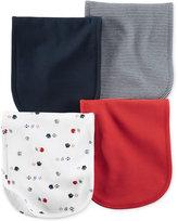 Carter's Baby Boys' 4-Pack Little All-Star Burp Cloths