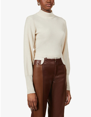 Reformation Osteria recycled-cashmere-blend jumper