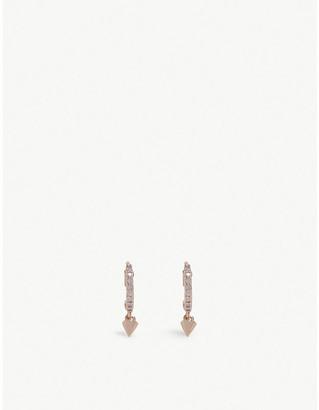 Astrid & Miyu Mystic Spike huggies earrings