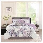 Nobrand No Brand Lira 8 Piece Watercolor Floral Comforter Set