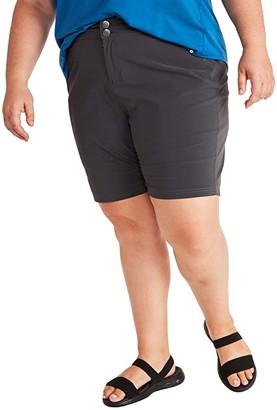 Marmot Plus Size Kodachrome Shorts (Dark Steel) Women's Shorts