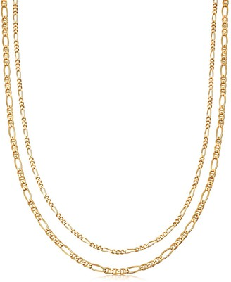 Missoma Gold Filia Double Chain Necklace