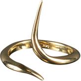 Bijules 18K Yellow Gold Ribbon Ring