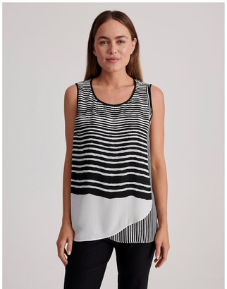 Regatta Sleeveless Sheer Double Layer Top