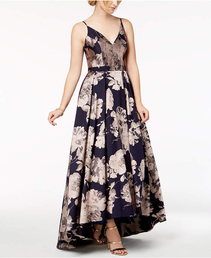 Xscape Evenings Floral-Brocade Ball Gown
