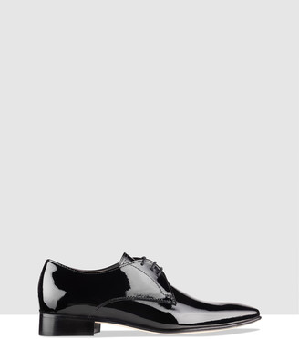 Habbot. Women's Black Brogues & Loafers - Doppio Derby Lace-ups - Size One Size, 36 at The Iconic