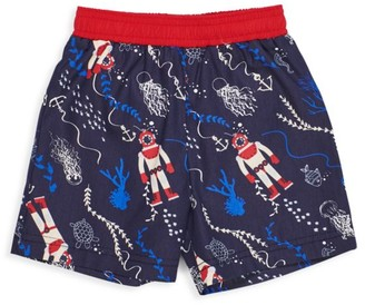 Florence Eiseman Baby's & Little Boy's Deep Sea Swimshorts