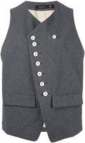 Klasica button detail waistcoat