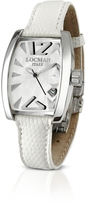Locman Panorama White Mother-of-Pearl Dial Dress Watch