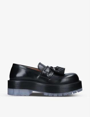 Bottega Veneta Stilt tasselled leather loafers