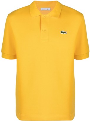 Lacoste Logo-Patch Short-Sleeved Polo Shirt