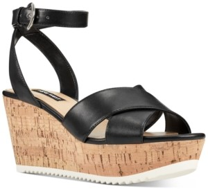 Nine West Dureen Platform Wedge Sandals Women's Shoes