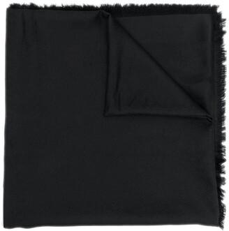 Saint Laurent large Monogram square scarf