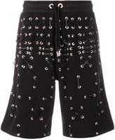 Les Hommes eyelet shorts