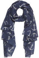Bling It Around Again Anchor Scarf