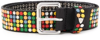 HTC Los Angeles rainbow studs belt