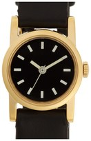 Steven Alan Round Leather Strap Watch, 20mm