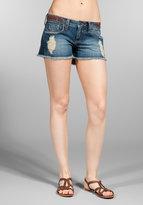 Frankie B. Jeans Peace Shorts