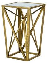 Nobrand No Brand Jaye Angular Mirror Accent Table - Gold