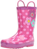 Western Chief Kids' Flower Cutie Rain Boot