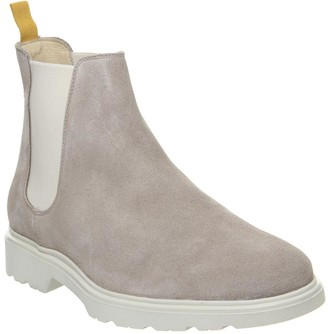 Ask the Missus Lightweight Chelsea Boots Sand Suede