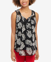 Motherhood Maternity Floral-Print Sleeveless Top