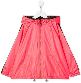 Fendi Kids Reversible Raincoat