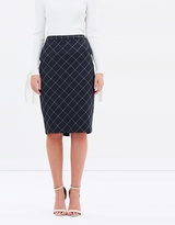 Sportscraft Signature Broadway Check Skirt