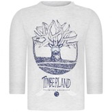 Timberland TimberlandBaby Boys Grey Organic Cotton Logo Top