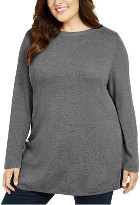 Karen Scott Plus Size Tunic Sweater