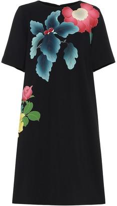 Etro Floral crepe dress
