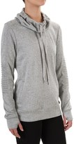 Steve Madden Moto French Terry Sweatshirt (For Women)