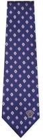 Versace Silk Floral Embroidered Tie