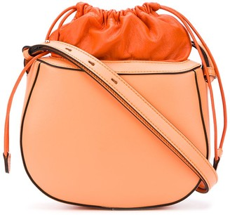 Stée Pouch Top Leather Shoulder Bag