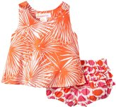 Masala Boogie And Rhythm Bloomer Set (Baby) - Paprika-3-6 Months