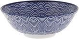 Design Studio Tokyo Nippon Blue Serving Bowl - Wave
