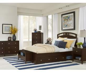 Three Posts Baby & Kids Granville Arch Platform Bed with Drawers Baby & Kids Size: Twin