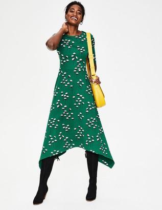 Leonie Ponte Midi Dress