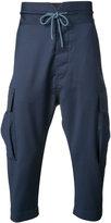 Vivienne Westwood Man - drop-crotch cropped trousers - men - Virgin Wool - 46
