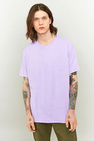 Uo Overdyed Lilac T-shirt