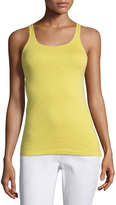 Eileen Fisher Organic-Cotton Long Tank Top, Yarrow
