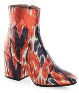 Dries Van Noten Ikat Booties