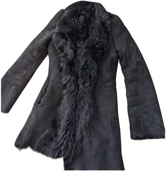 Joseph Black Shearling Coats