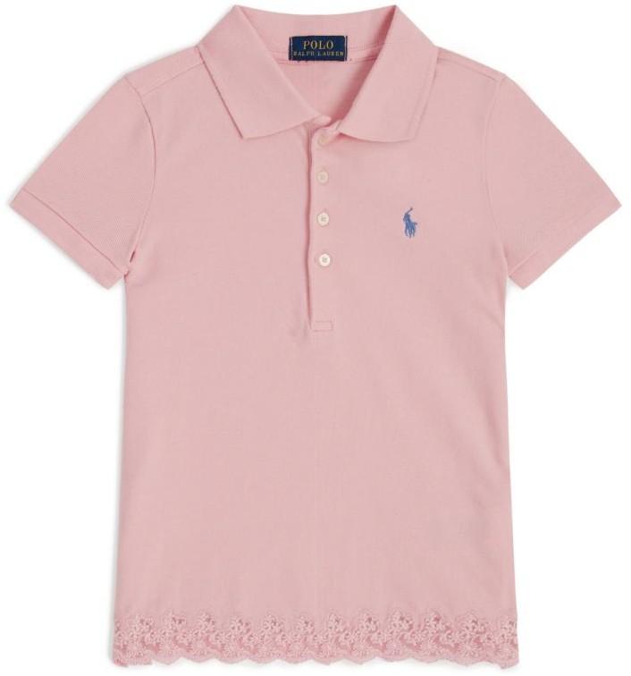 Ralph Lauren Kids Lace Trim Polo Shirt (2-4 Years)
