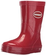 Havaianas Kids' Galochas Rain Red Pull-On Boot