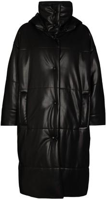 Nanushka Eska vegan leather puffer coat