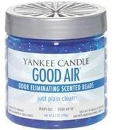 Yankee Candle Just Plain Clean Good Air Odor Eliminating Scented Beads, Fresh Scent