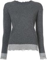 RtA Charlotte metallic trim sweater