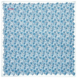 Eton Watercolour Floral Pocket Square