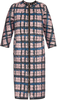 Erdem Mae perforated-neoprene coat